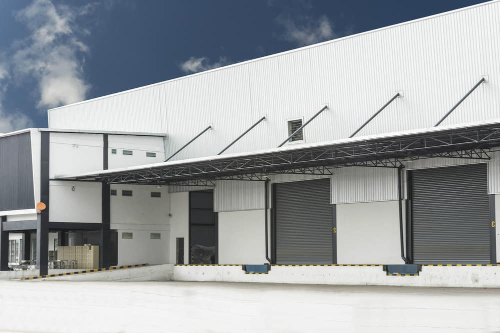 Industrial roofing and cladding job in Sydney CBD, NSW
