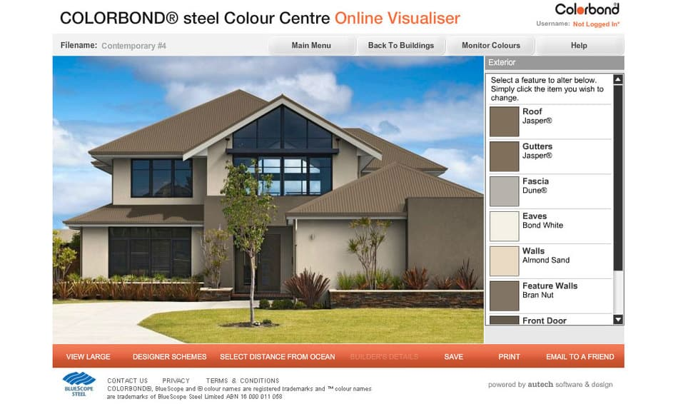 Exterior Siding Color Visualizer Exterior Home Visualizer