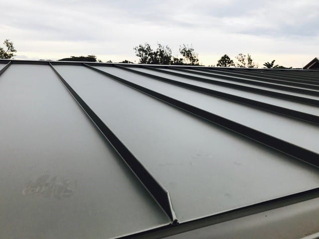 Standing Seam - Snap Lock Roof Wamberal NSW 1