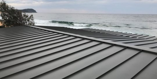 Standing Seam   Snap Lock Roof Wamberal NSW