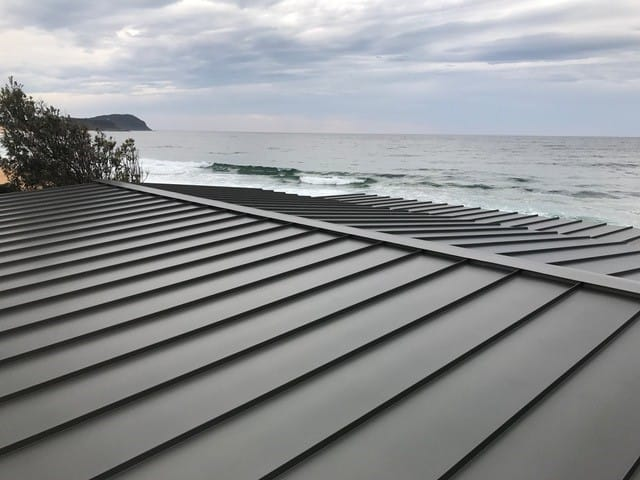 Standing Seam - Snap Lock Roof Wamberal NSW