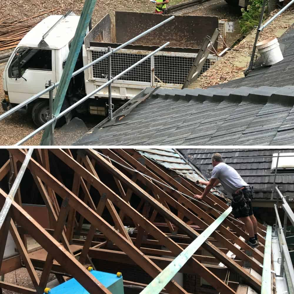 Tile Roof Replacement - Re-roofing project by ARC Metal Roofing