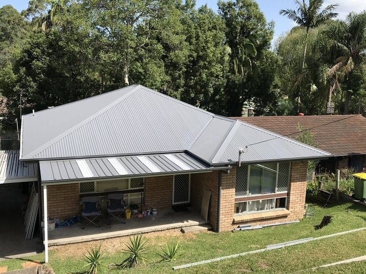 Gosford Metal Roofing project completed by ARC Metal Roofing Contractors - 2