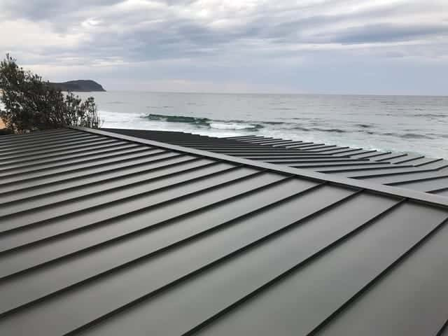 Standing Seam Metal Roofing Project Avoca Beach, NSW -1