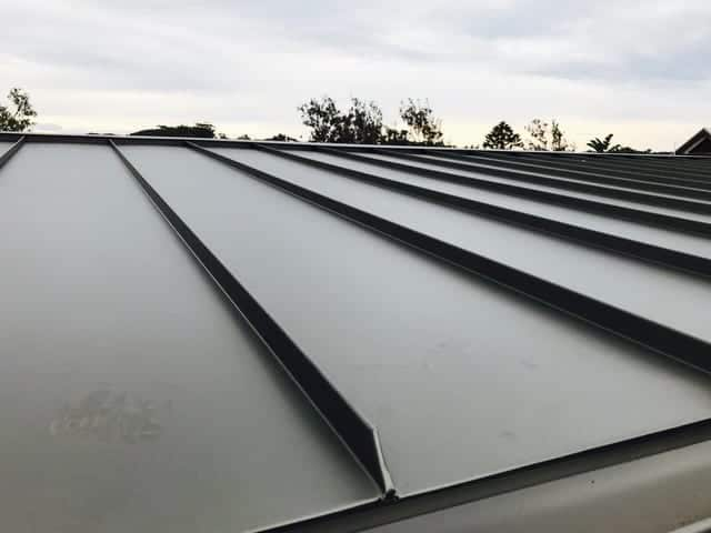 Standing Seam Metal Roofing Project Avoca Beach, NSW