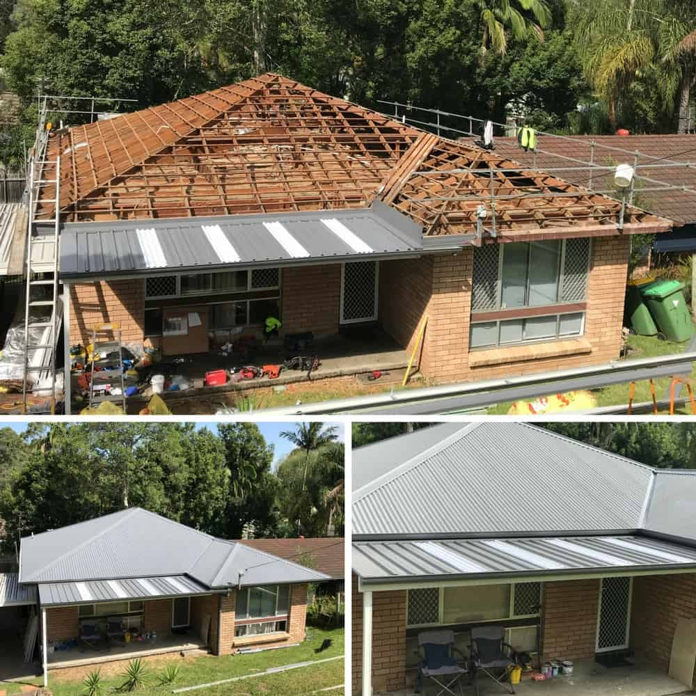 Terrigal Metal Roofing project completed by ARC Metal Roofing Contractors