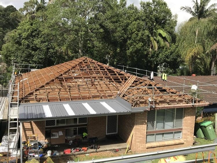 Terrigal Metal Roofing residentail project completed by ARC Metal Roofing Contractors - 1