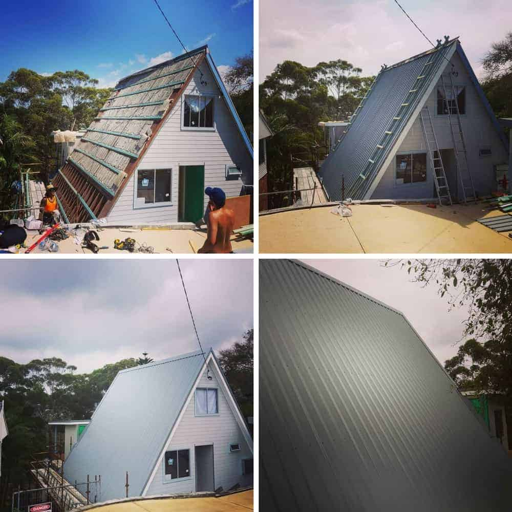 Wyong Metal Roofing Project completed by ARC Metal Roofing Contractors