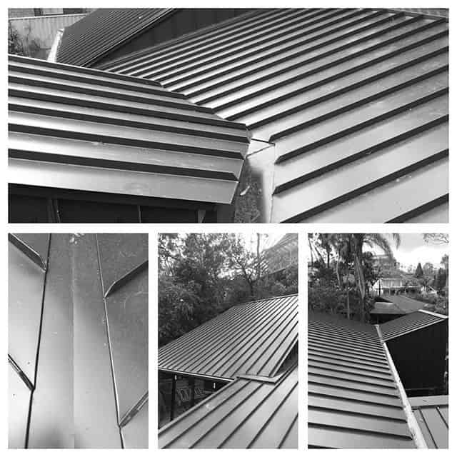 Standing Seam Steel Roofing project in Castle Hill, NSW